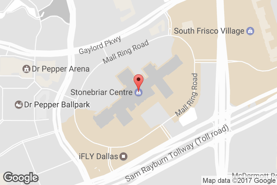 Map of Stonebriar Centre - Click to view in Google Maps